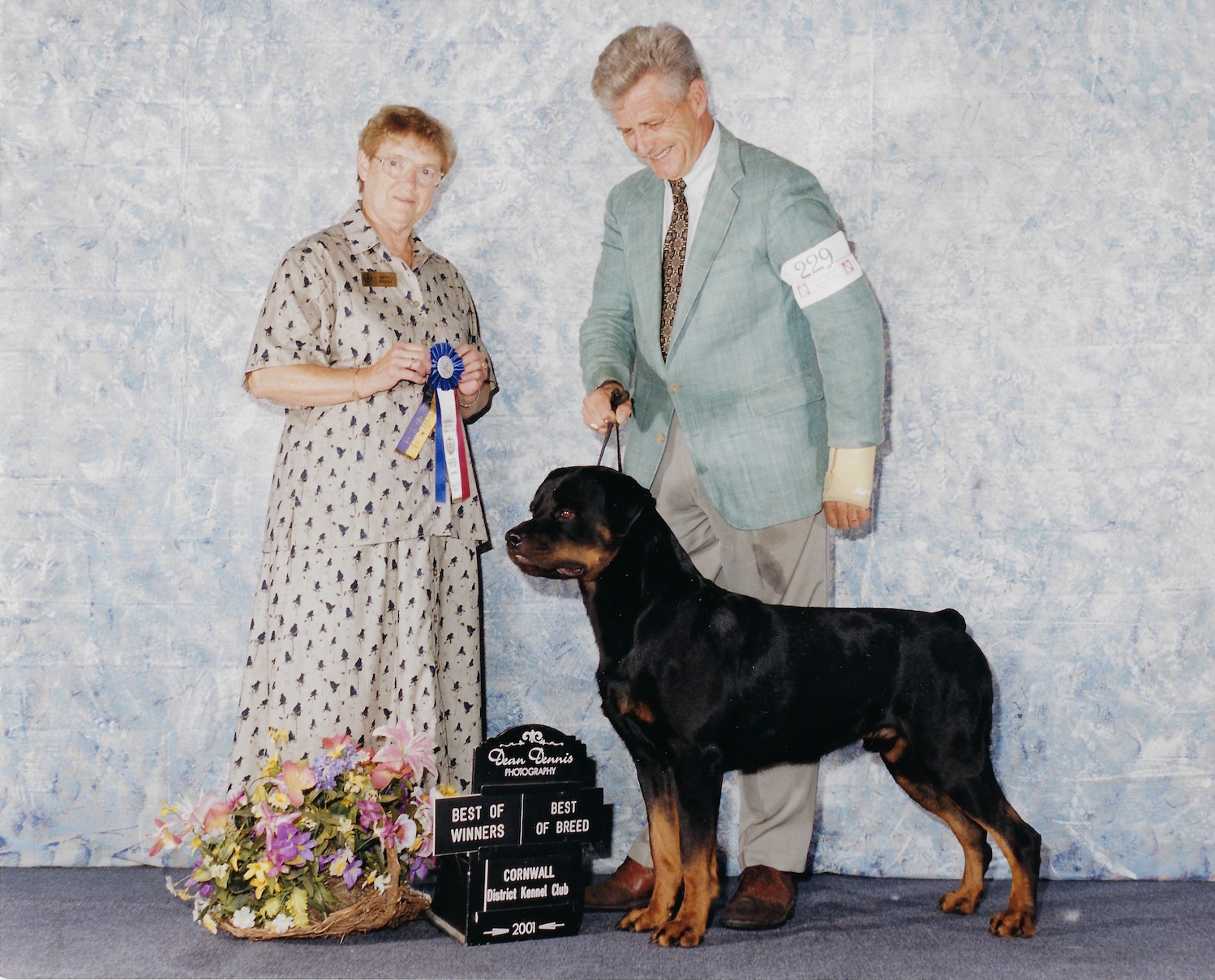 Marcus, Best of Winners, Best of Breed, Cornwall District Kennel Club, 2001, Dean Dennis Photography